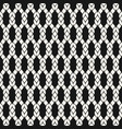 pattern with mesh net fishnet wavy wire rope vector image