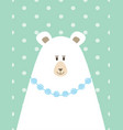 picture mama bear vector image