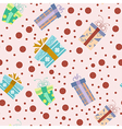 Presents pattern2 vector image vector image