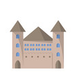 castle tower icon vector image