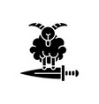 eid al adha black glyph icon