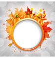 Halloween With Pumpkins vector image vector image