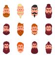 Hipster barbershop cartoon vector image vector image