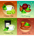 matcha realistic concept vector image