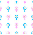 seamless pattern with male and female man and vector image vector image