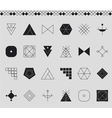 Set of geometric hipster shapes4534411 vector image vector image