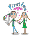 The in childrens style First love