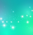 Abstract Stars Light Blue Background vector image