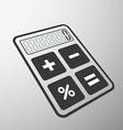calculator Stock vector image vector image
