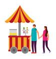 circus fun fair carnival vector image