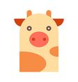 cow vector image vector image
