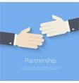 Partnership concept vector image vector image