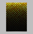 Square pattern poster template - mosaic tile