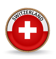 Switzerland Seal vector image vector image