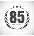Template Logo 90 Years Anniversary vector image vector image