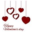 st valentine card vector image