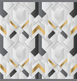 abstract art deco modern geometric tiles pattern vector image vector image