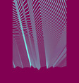 abstract background with geometric 3d lines vector image vector image