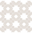lace seamless pattern subtle beige and white vector image