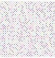 multi-colored little polka dots seamless pattern vector image