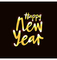 new year for calendar invitation greeting card vector image