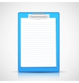 Paper in Clipboard vector image