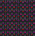 restaurant wine bar seamless black pattern with vector image