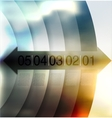abstract background number line vector image vector image
