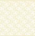 beige dandelion seamless pattern vector image vector image