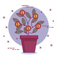 crowdfunding sponsor collaboration donation vector image vector image