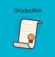 graduation design concept vector image