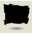 grunge brush bg blank vector image
