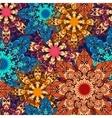 mandala seamless pattern 1 vector image vector image