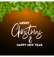 merry christmas 2019 background vector image