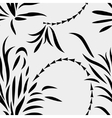 Seamless abstract plants vector image