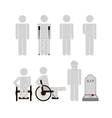 People with disabilities vector image