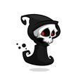 Grim reaper cartoon character vector image vector image