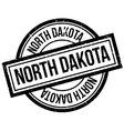 North Dakota rubber stamp vector image vector image