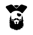 Pirate mascot Head vector image vector image