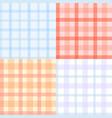plaid pattern seamless vector image