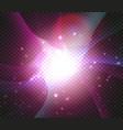 cosmic nebula backdrop magic galaxy background vector image vector image