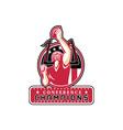 Football Conference Champions Atlanta Retro vector image vector image
