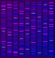 genome science structure visualization dna test vector image vector image