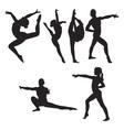 Gymnastics set vector image vector image