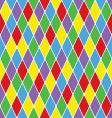 harlequin pattern vector image vector image