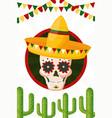 mexico cinco de mayo vector image vector image