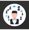 Social network design Social media icon Isolated