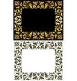 Vintage victorian frames vector image vector image