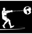 Sport no has limit America vector image