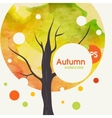 Creative Autumn Background vector image vector image